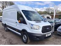 2015 15 FORD TRANSIT 2.2 350 HIGH ROOF XLWB 124 BHP DIESEL