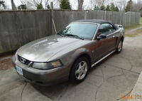 2002 Ford Mustang Convertible NEW PRICE