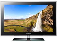 "Samsung 40"" lcd tv full hd built in free view"