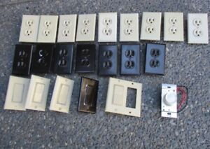 Electrical outlets & switches ~ Residential