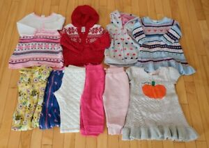 Lot of girl clothing 12-18m
