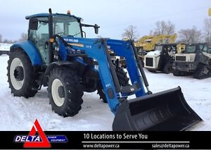 2013 New Holland T5.105 MFD Cab Tractor w/Loader