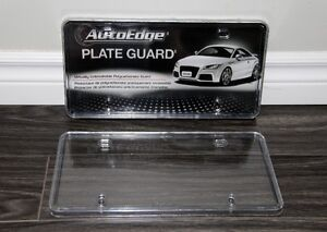 2x Licence Plate Covers **NEW NEVER USED**
