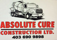 Concrete&bobcat services with (ABSOLUTE CURE CONSTRUCTION)