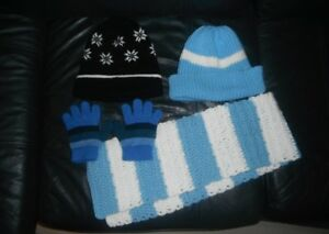 boy 5T Winter hats, scarf, mitten