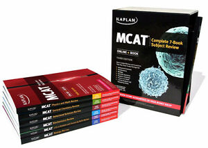 ***Kaplan MCAT - Complete 7-Book Subject Review 2016*** St. John's Newfoundland image 1