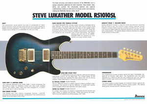 1983 IBANEZ STEVE LUKATHER SIGNATURE MODEL - RS1010SL