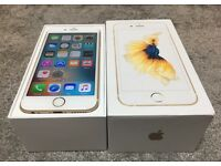 iphone 6S 16GB gold, unlock any network! Working prefct!