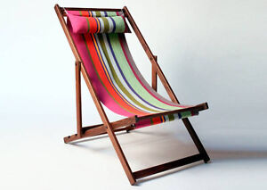 Canvas deck chairs or frames
