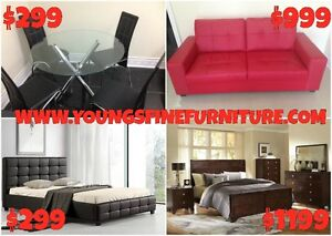 2PCS BONDED LEATHER SECTIONAL WITH ADJUSTABLE HEAD REST $899 Kitchener / Waterloo Kitchener Area image 6