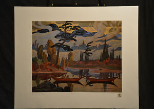 """Limited Edition """"Mist Fantasy"""" by J.E.H. MacDonald London Ontario image 5"""