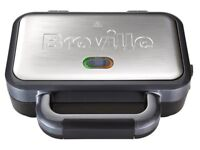 Breville Deep Fill Sandwich Toaster Stainless Steel 2 Slice