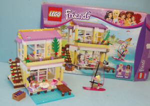 LEGO FRIENDS no 41037, la MAISON à la PLAGE