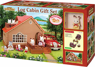 Sylvanian Families Log Cabin Gift Set 2917 ~New