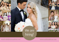 We Are Hiring Makeup & Bridal Hairstylists
