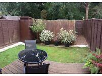 1 bedroom maisonette with private garden