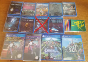 Selling / Trading Limited Run Games releases