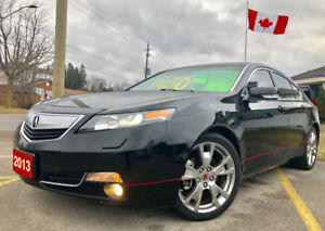 2013 Acura TL AWD,(ELITE)$155KM,Fully Equipped CERTIFIED