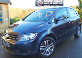 2012 (62) VOLKSWAGEN GOLF PLUS SE BLUEMOTION 1.6 TDI - 2 OWNERS - LOW MILES- FSH