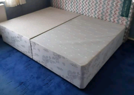 Lovely Double Divan Bed Base Good Condition Can Deliver for £5