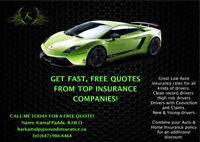 CHEAP CAR INSURANCE! CALL TODAY FOR A FREE QUOTE (647)-986-6464