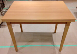 Ikea Jussi Beech Compact Expandable Dining Table
