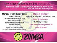 New Zumba class Southend on sea
