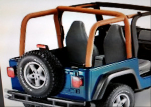 Sport bar pad for jeep Cj5 76-83 and cj7 76-86 couleur spice
