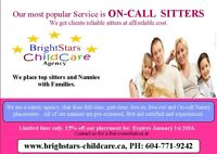 ARE YOU LOOKIMG FOR THE RIGHT NANNY? WE CAN HELP