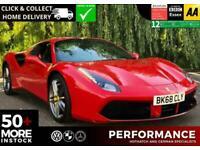 2018 Ferrari 488 3.9T V8 Spider F1 DCT (s/s) 2dr Auto Convertible Petrol Automat