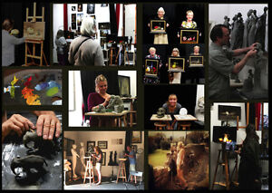 PAINTING and SCULPTING workshops in Florence, Italy Kitchener / Waterloo Kitchener Area image 1