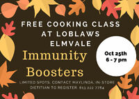 immunity booster cooking class