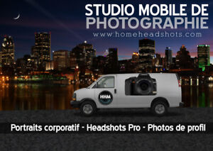 Studio mobile de photographie / portraits