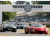 6 x GOODWOOD FESTIVAL OF SPEED SATURDAY TICKETS GENERAL 1 JULY 2017 SPECIAL DELIVERY WORLDWIDE