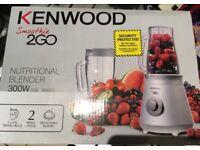 Kenwood smoothie 2go nutritional blender brand new