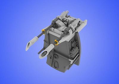 EDUARD BRASSIN 648060 MG17 mount for Bf109E Eduard Kit in 1:48