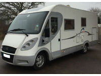 Adria Vision i707G 4 berth A class fixed bed over garage motorhome,UNDER OFFER