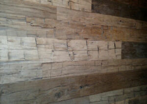 Sawn Reclaimed Barnboard - Sawn Barn Board Beams - Beam Skins