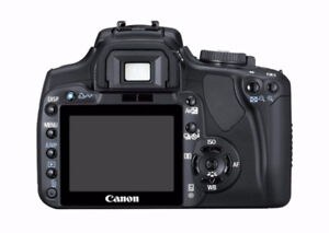 Canon Rebel XTi DSLR Camera  10.0 mp