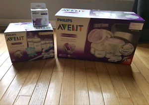 Philips avent double electric breast pump.
