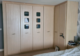 Sharps fitted wardrobes, PLEASE READ AD FULLY and matching mirror