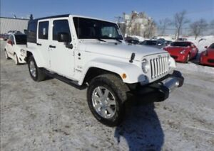 2016 Jeep Wrangler Unlimited 6SPD 4WD 4dr Sahara Hrd / Sft Top,