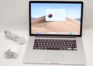 """MINT Mid 2015 15"""" MacBook Pro Retina Quad i7 2.5G/16GB/500GB SSD"""