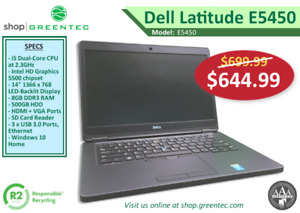 Greentec - New Year's Refurbished Laptop Sale Continues!