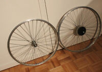 """MACH1 (FRANCE): Roues 26"""" / Alloy Wheels + 7-speed"""
