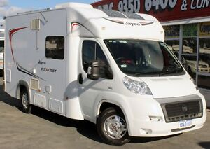 2013 FIAT JAYCO CONQUEST 2.3L TURBO AUTO DIESEL MOTORHOME Cannington Canning Area Preview