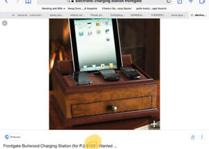 Cell phone/electronic Charging Station