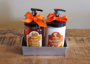 NEW - Hand Wash & Lotion Kit from Pier 1 (Spiced Cake)