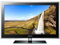 "Samsung 42"" tv full hd 1080 built in free view"