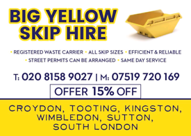 Skips for hire